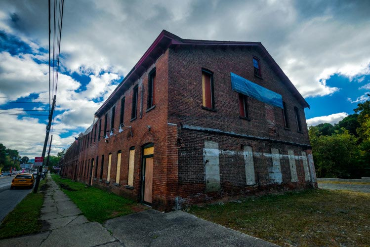 historic manufacturing building