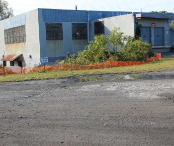 manufacturing warehouse space in Newburgh