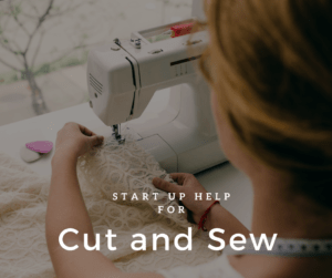 cut and sew pod at the Orange County Accelerator