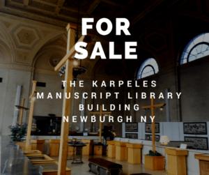 Beautiful Karpeles Manuscript Library Building in Newburgh is for sale