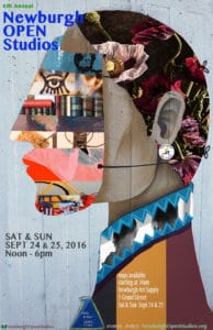 Official Poster Newburgh Open Studios 2016