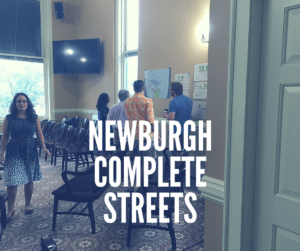 Newburgh Complete Streets Grant Funded Workshop funded and organized by Orange County Planning