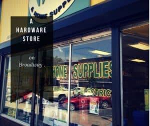 Mel Hale's Hardware Store 199 Broadway, Newburgh, N.Y.