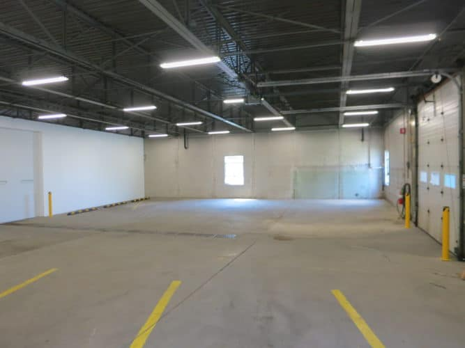 clean warehouse space that's affordable