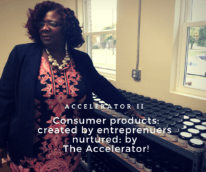 Alyson Springett at the Orange County Accelerator II helping startups in Newburgh and beyond