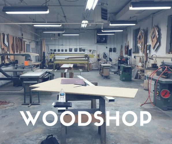 75 Carson Avenue Collaborative Workspace Woodshop Space