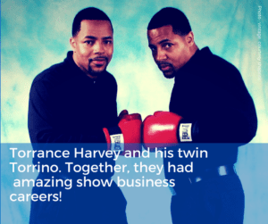 Newburgh's Councilman Torrance Harvey and brother Torrino in an early publicity shot