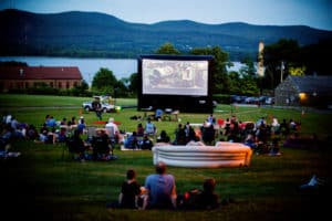 Liberty Street Film Series kickoff night! June, 2017