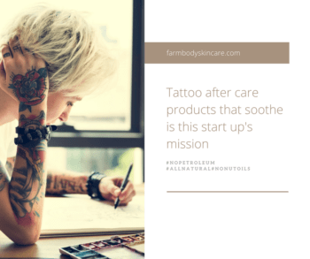 Tatto Art Aftercare Products