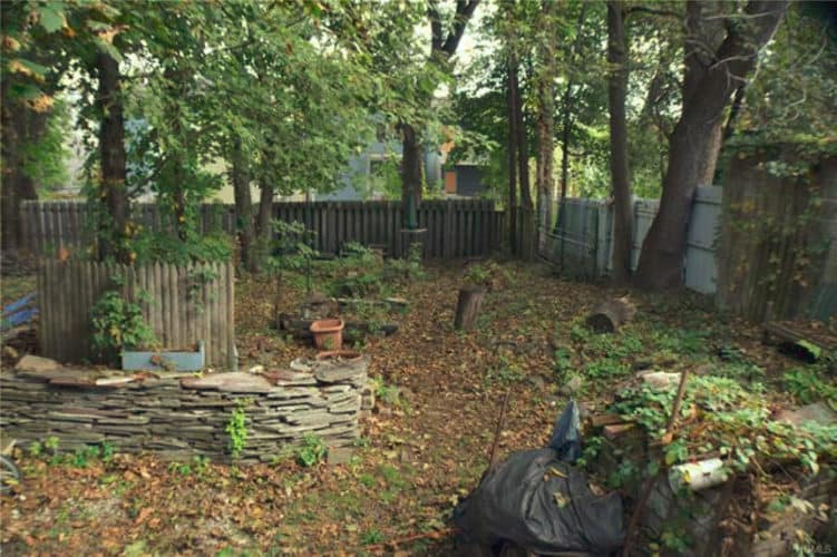 40 City Terrace Newburgh NY spacious backyard area