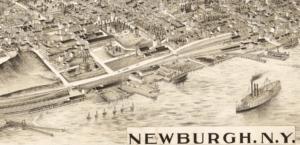Birdseye view of Newburgh N.Y. T.J. Hughes