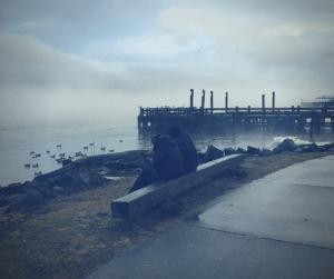 Winter on the Newburgh N.Y. Waterfront