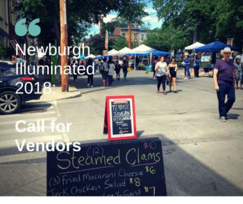 Vendor Call: Newburgh Illuminated 2018